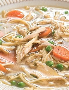 A grown-up chicken noodle soup recipe that's easy and healthy