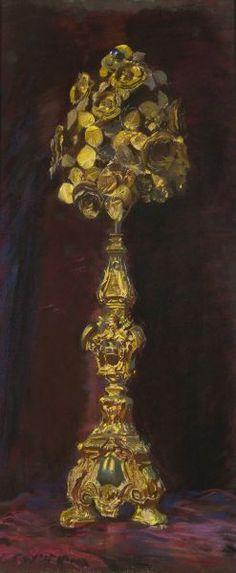Złota róża - Leon Wyczółkowski