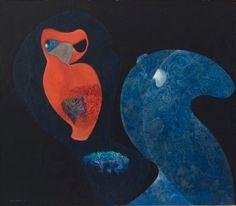 igormaglica: Max Ernst Red Owl, oil on canvas, 105 × 120 cm Max Ernst, John Heartfield, Dada Artists, Hans Richter, Modern Art, Contemporary Art, Francis Picabia, Red Owl, Sculpture