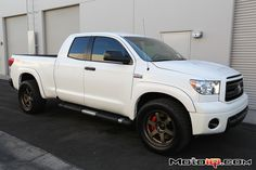 Project Toyota Tundra Part 9- Installing TRD's big brakes with Volk Wheels