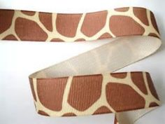 giraffe print ribbon Wholesale Ribbon, Printed Ribbon, Giraffe Print, Bows, Prints, Crafting, Accessories, Animal, Arches