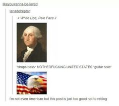 We all have the power of George Washington within us. As told by Tumblr.