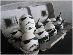 Celebrate Easter than with storm trooper eggs? That's funny