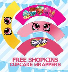 Shopkins Birthday Party Printable Centerpiece Characters, Condiment Labels and C. Shopkins Birthday Party Printable Centerpiece Characters, Condiment Labels and Cupcake Topper Files Free Shopkins, Shopkins Bday, Shopkins Cake, Aubry, Spa Party, Party Printables, Easter Printables, Birthday Decorations, Party Games