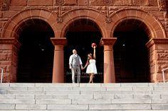 Santa Ana Courthouse Wedding #Courthouse #Weddings can be beautiful!!