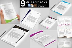 Letterhead by @Graphicsauthor