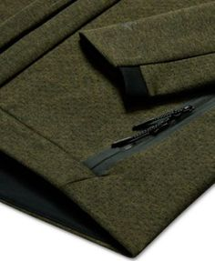 Nike Men's Sportswear Tech Fleece Zip Hoodie - Green L