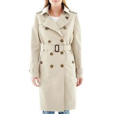 Liz Claiborne® Belted Lined Trench Coat  found at @JCPenney