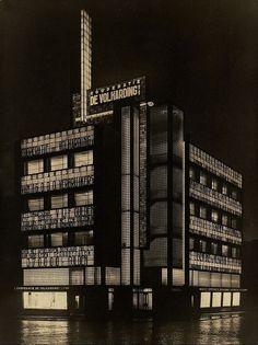 1928 De Volharding Grote Markt 22 24 Den Haag Kantoorgebouwen