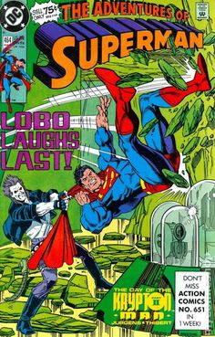 "The Adventures of Superman #464, ""The Day of the Krypton Man, Part 2"""
