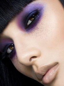purple fancy look