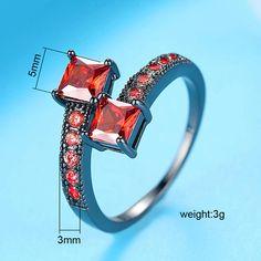 Gold Color rainbow open adjust rings CZ elegance lady Ring Big parachute shape