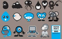 30 Packs de personajes (characters) vectorizados – Puerto Pixel | Recursos de Diseño