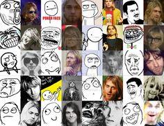 kurt cobain memes | Kurt Cobain meme collage by tyedie1995