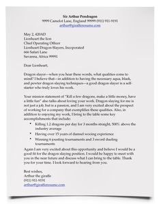 a good cover letter example - How To Write A Resume And Cover Letter