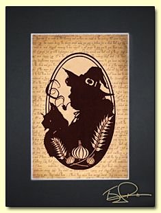 Nanny Ogg Papercut One of my favorite witches and Greebo! Paper Cutting, Cut Paper, Discworld Tattoo, Nanny Ogg, Wyrd Sisters, Terry Pratchett Discworld, Paper Artwork, Sign Printing, Female Characters
