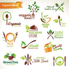 Organic Food Logo Healthy benefits of an organic garden Nutrition Program, Nutrition Plans, Rice Nutrition, Nutrition Quotes, Holistic Nutrition, Nutrition Education, Print Image, Icon Design, Logo Design