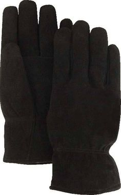 Majestic 1548 Split Deerskin Leather Winter Driver Gloves Thinsulate Lined (DOZEN)