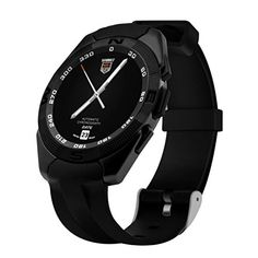 AutumnFall G5 MTK2502 Smart Watch Monitor Pedometer Bluetooth Heart Rate for IOS Android Black * Click on the image for additional details.