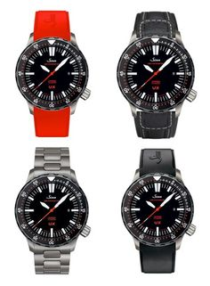 The many strap choices for the #Sinn #U1 #SDR #Watches