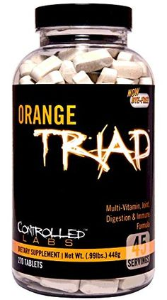Controlled Labs Orange Triad Multivitamin Joint Digestion And Immune 270Count Bottle *** Continue to the product at the image link. (Note:Amazon affiliate link)