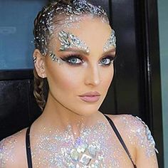 Adhesive Face Gems Festival Jewelry Temporary Face Jewels Stickers Party Body Rhinestone Flash Body Make Up Accessories Angel Makeup, Fairy Makeup, Mermaid Makeup, Angel Halloween Makeup, Angel Make Up Halloween, Makeup Carnaval, Carnival Makeup, Glitter Make Up, Glitter Face