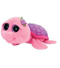 ef4cfb945a4 TY Beanie Boo Rosie Purple Rose Turtle Rare Beanie Boos