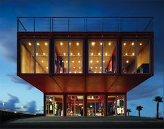 Greentainer Front  #shipping-container #architecture