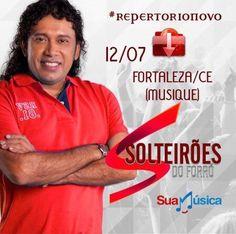 SOLTEIRÕES DO FORRÓ AoVivo na #Musique Fortaleza/CE   http://suamusica.com.br/SolteiroesNaMusica2MusicasNovas