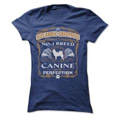 ICELANDIC SHEEPDOG NO 1 BREED CANINE PERFECTION T Shirts, Hoodie. Shopping…