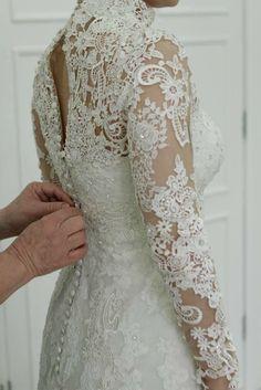 Detalhes Vestido de Noiva Atelier Geraldo Couto