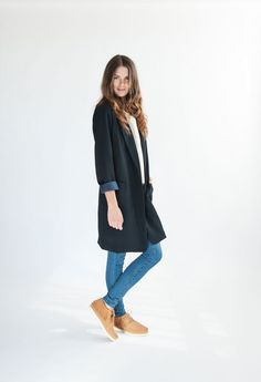 Ladies, meet your new fall shoe. We took our classic ankle boot, mixed in a little fall fringe, and added a sporty sole. (Hey, they even lace up!) Wear them with your skinny jeans, a cozy tee, and a long layered blazer for a look that'll take you from place to place with an extra spring in your step.