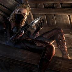 "we-are-rogue:  ""Astrid - TES Legends Dark Brotherhood card art [x]  """
