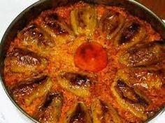 Albanische Spitzenpaprika mit Hackfleisch-Reisfüllung (Dollma) - Rezept