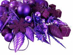 Purple Shatterproof Christmas Ornament Club Pack  - 125 piece -  Item #N512506 | linens-n-things