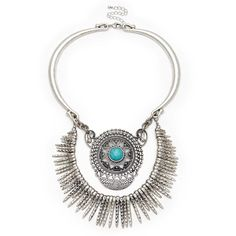 "Sole Society ""dagger and pendant statement necklace"", $49.95"