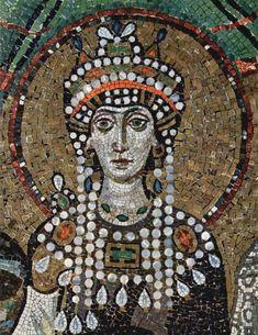 Empress Theodora in Pearls
