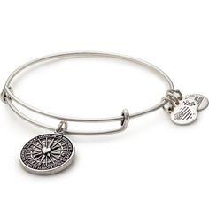 Alex And Ani Dana Farber Cancer Institute North Star Silver Bracelet NWT RARE