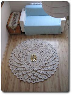 """Fish scales"" carpet/rug"