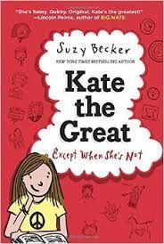 """Brenda's Pick. Kate the Great. By Suzy Becker. Kate's older sister is way too perfect. Her younger sister is way too cute. And her mom wants her to be pals with her frenemy, Nora Little does she know how much """"help"""" she'll be getting from Eleanor Roosevelt and Albert Einstein. Click the link below to search the Keller Public Library catalog for this Juvenile Fiction book http://fwmlc.polarislibrary.com/polaris/default.aspx? Posted 2/8/15."""
