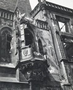 Liberation of Prague. The day after damages were calculated. Czech Republic, Old Photos, Ale, Cities, Europe, Military, Retro, Places, Travel