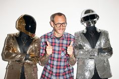 Daft Punk by Terry Richardson for Wall Street Journal Magazine - FNG magazine