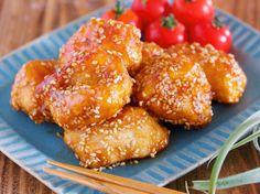 油は大さじ2♪むね肉で作る♪『揚げない鶏唐の甘酢ごまあえ』 by Yuu 「写真がきれい」×「つくりやすい」×「美味しい」お料理と出会えるレシピサイト「Nadia | ナディア」プロの料理を無料で検索。実用的な節約簡単レシピからおもてなしレシピまで。有名レシピブロガーの料理動画も満載!お気に入りのレシピが保存できるSNS。