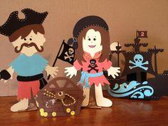 Everyday paper dolls Cricut cartridge , pirate dolls,