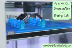Berlin's brilliant 3D printing cafe Dimensionalley. Delicious food and amazing 3D printing at affordable prices all in one place. More info and photos in the link. #berlin #germany #family #3dprinting