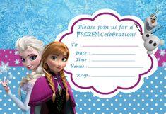 Free Printable Frozen Invitation Templates Bagvania Free Printable