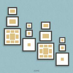 ideas novedosas para colgar los cuadros en tu hogar