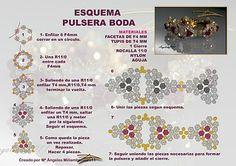 Quienlodira Creations: WEDDING bracelet Scheme