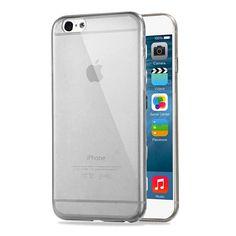 iPhone caso 6S, HAWEEL ® 0,3 mm Zero serie trasparente TPU Custodia protettiva per iPhone 6/iPhone 6s, Black: Amazon.it: Elettronica