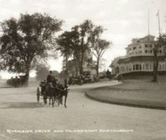 The Harlem's Luxurious Claremont Restaurant And Inn At Riverside Drive NY 1895